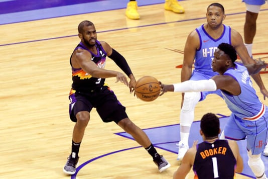 Ayton Has Season-high 26 Points, Suns Beat Rockets 109-103