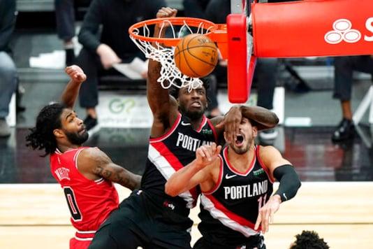 Lillard's 3-pointer Sends Blazers To 123-122 Win Over Bulls