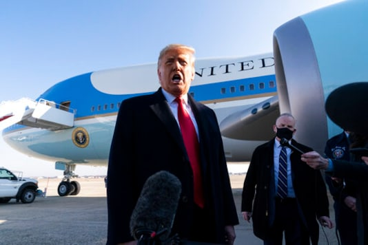 Facing 2nd Impeachment, Trump Stands Largely Silent, Alone