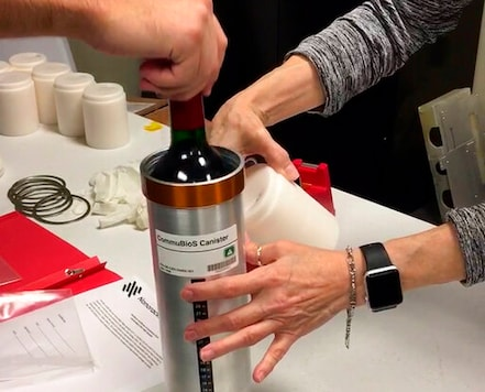 Cheers! French Wine, Vines Headed Home After Year In Space