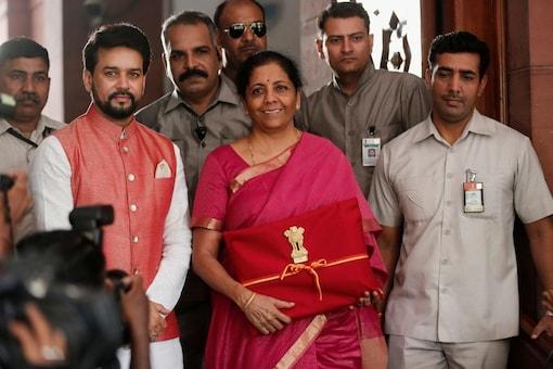 File photo of finance minister Nirmala Sitharaman