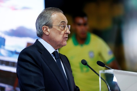 Florentino Perez (Photo Credit: Reuters)