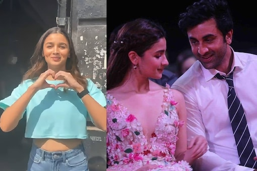 Alia Bhatt has Cutest Reactions to Fans Asking Her if She Loves Ranbir Kapoor's Favorite Things