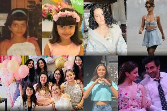 Aaradhya Bachchan Resembles Aishwarya Rai in Pink Frock, Kangana Ranaut Counters Rihanna's Tweet