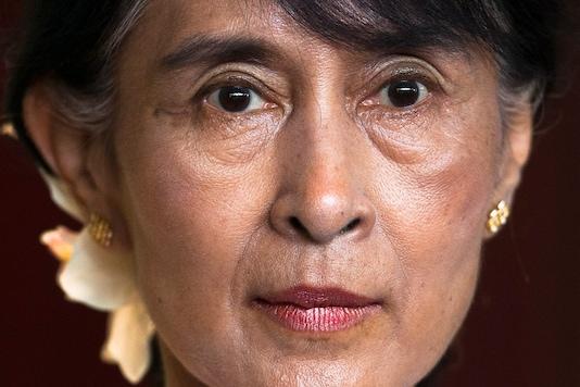 File photo of Aung San Suu Kyi. (Image: AP)