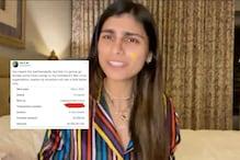 Mia Khalifa Had a Savage Response to Haters, Donates $5,000 to Lebanon Red Cross Organisation