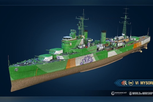 INS Mysore for World of Warships by Wargaming