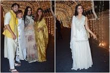 Stars Attend Padmini Kolhapure's Son Priyaank Sharma's Wedding Bash, See Pics