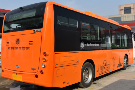 Electric Buses. (Image source: GreenCell)