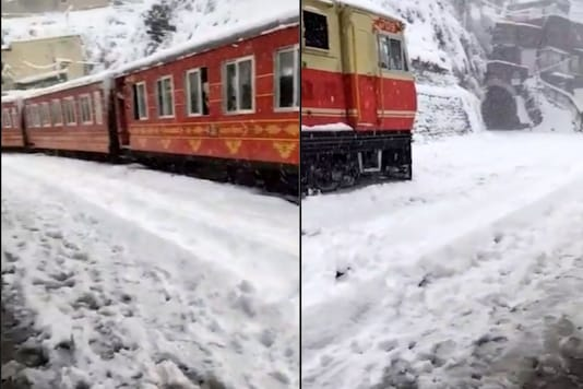 'Sight to Behold': Breathtaking View of Snow-covered Train in Himachal Pradesh Goes Viral