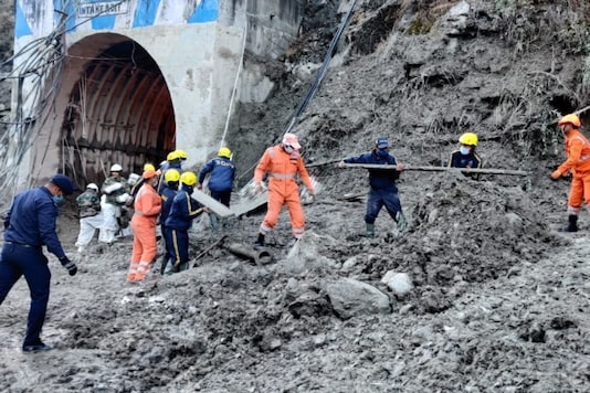 NDRF personnel engaged in rescue ops in Uttarakhand