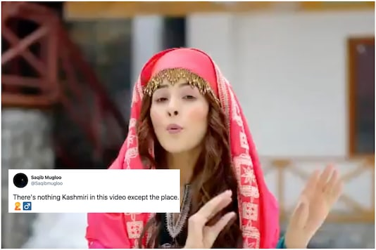 Bigg Boss 13 contestant Shenaaz Gill's Kashmir travel video has gone viral for all the wrong reasons | Image credit: Twitter