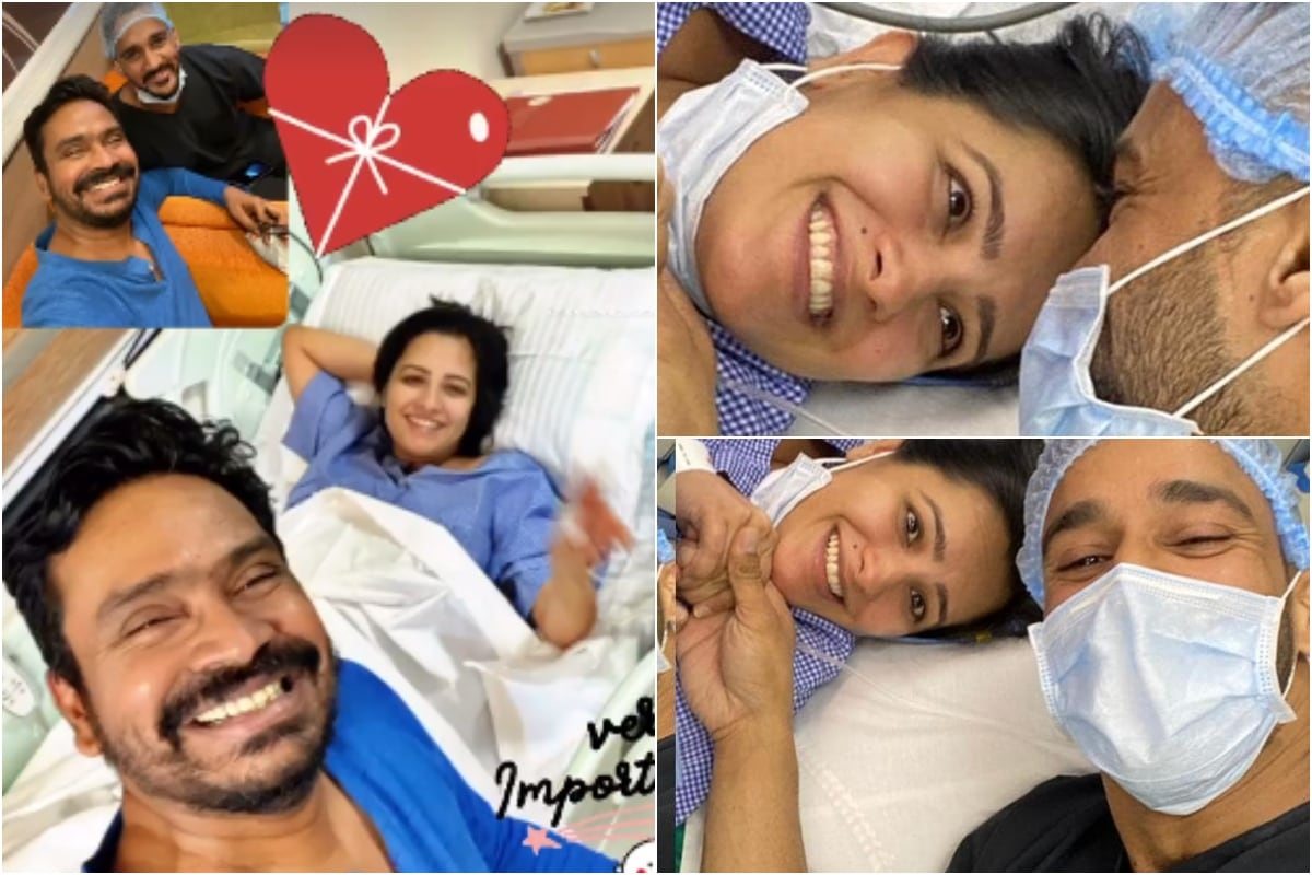 Anita Hassanandani and Rohit Reddy Welcome Baby Boy, Couple's Photos from Hospital Go Viral - News18