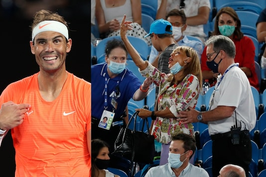 Rafael Nadal's unusual experience with a fan at Australian Open. (Photo Credit: Reuters)