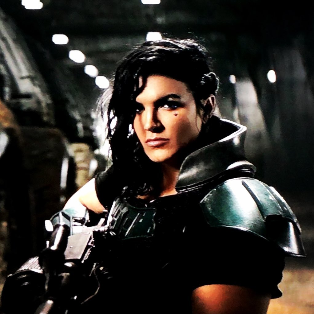 Gina Carano played Cara Dune in The Mandalorian but has been removed for controversial social media posts (Photo Credit: Instagram)