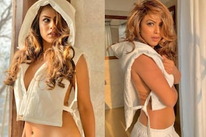 Nia Sharma Raises Hotness Quotient In Crop Jacket, See Her Jaw-dropping Bold Pics
