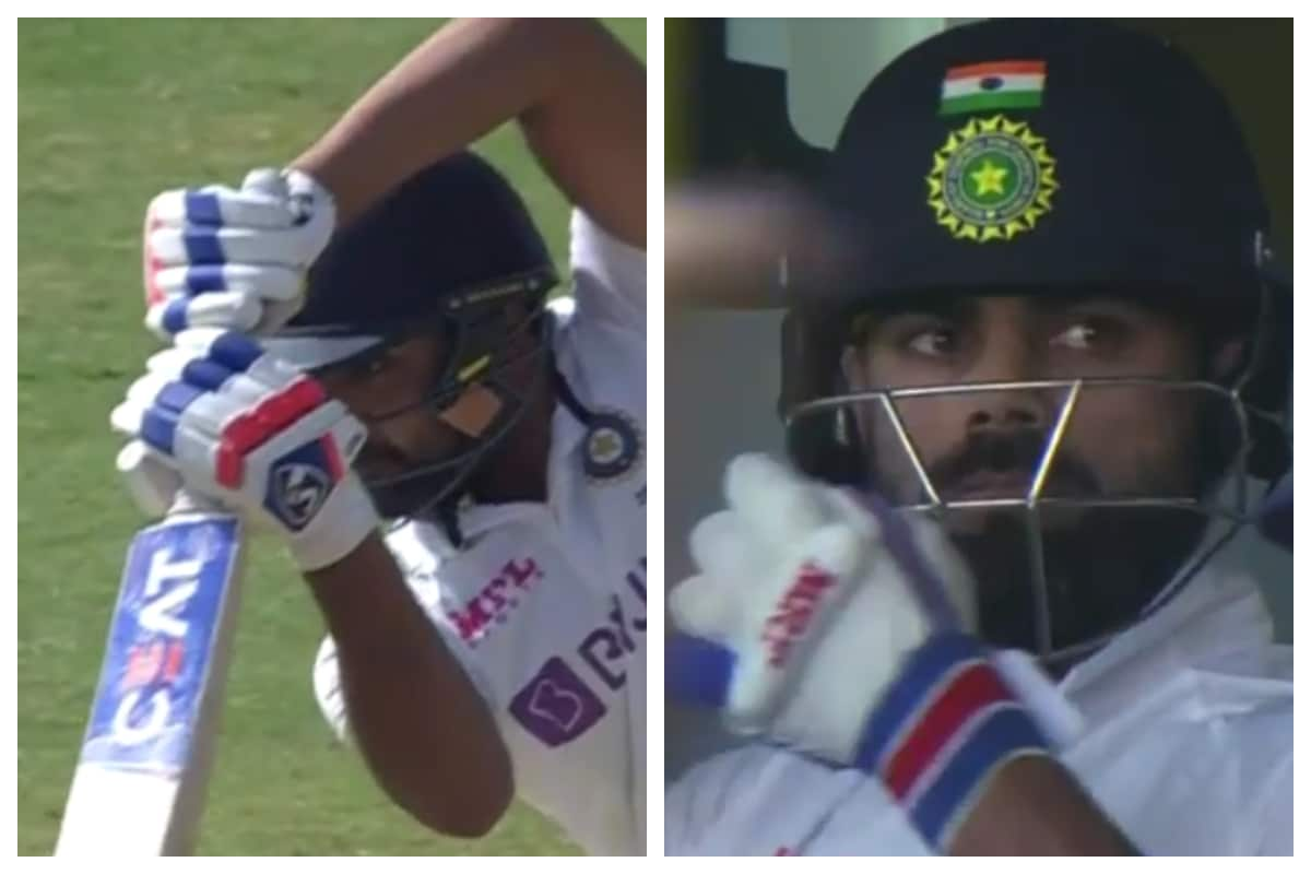 India vs England 2021: WATCH-Rohit Sharma Plays the Perfect Cover Drive; Virat Kohli is Super Impressed