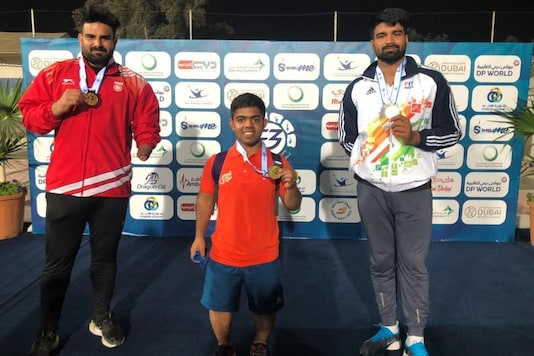 Promising Para-athletes Navdeep and Arvind secured two quotas for the Tokyo 2020 Paralympic Games as India's gold medal tally swelled to nine after the third day of competitions at the 12th Fazza International Championships-Dubai 2021 World Para Athletics Grand Prix here.
