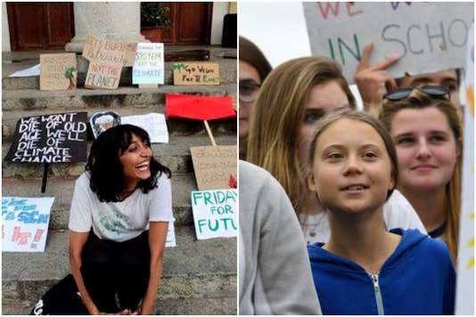 22-year-old Disha Ravi has been accused of sharing the farmer protests toolkit with Greta Thunberg | Image credit: File Photo/AP