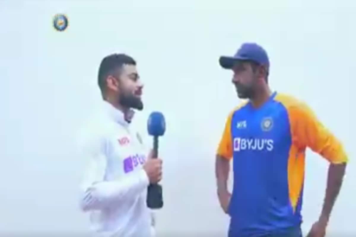 India vs England 2021-WATCH: Ravichandran Ashwin Opens his Heart Out to Skipper Virat Kohli