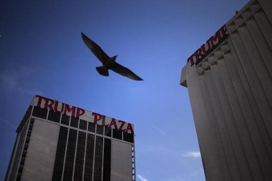 The former Trump Plaza casino is to be imploded after falling into such disrepair that chunks of the building began peeling off and crashing to the ground. Reuters
