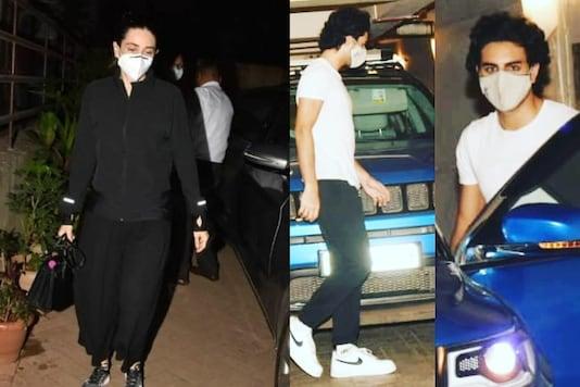 Ahead of Kareena Kapoor's Delivery, Karisma, Babita and Ibrahim Ali Khan Visit Her at Home