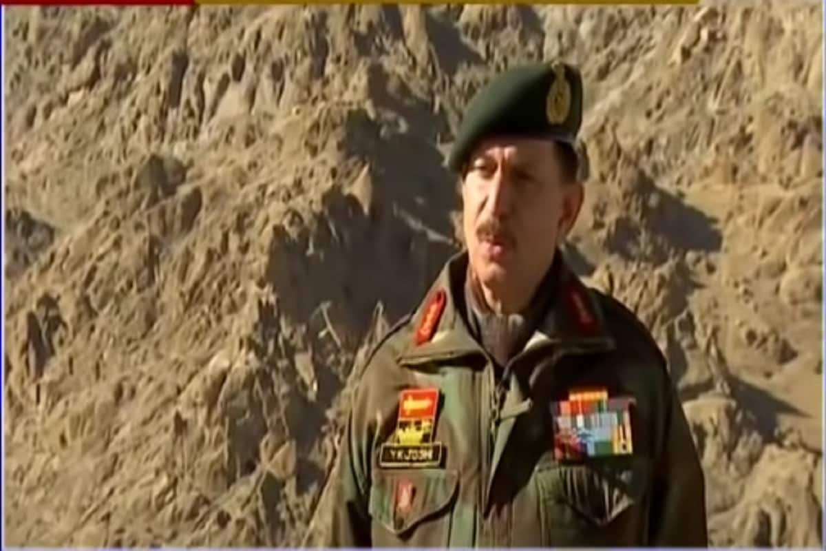'India Averted War with China. We Were on the Brink': Northern Army Cdr Lt Gen YK Joshi - News18