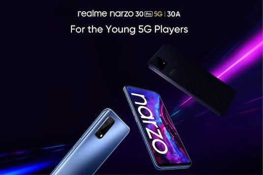 Realme Narzo 30A, Narzo 30 Pro 5G poster