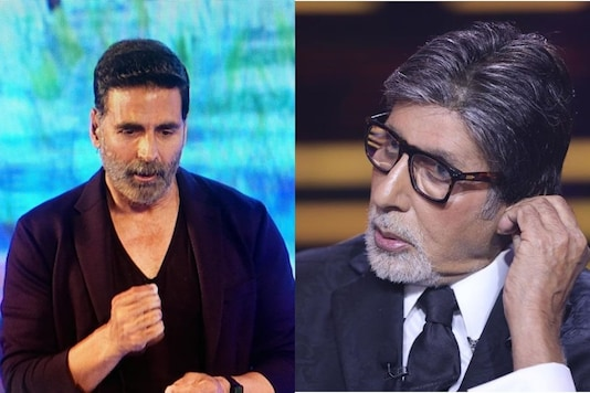 File photos of Akshay Kumar and Amitabh Bachchan
