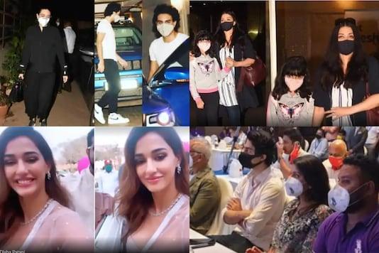 Karisma, Ibrahim Visit Kareena Kapoor Ahead of Baby's Arrival, Aishwarya Rai Trolled for Holding Aaradhya Bachchan's Hand