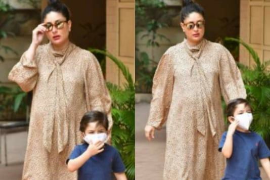 Kareena Kapoor's Pregnancy Glow is Unmissable as She Steps Out with Taimur Ali Khan