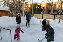 As Pandemic Restricts Public Gatherings, Canadians are Making Ice-Rinks in Their Own Backyard