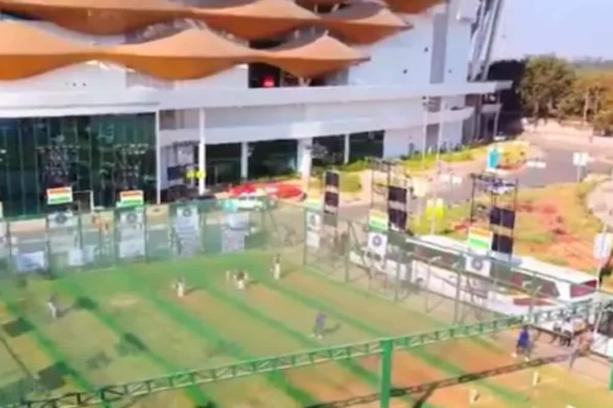 India vs England 2021- WATCH: Aerial View of Team India's Net Session at Motera