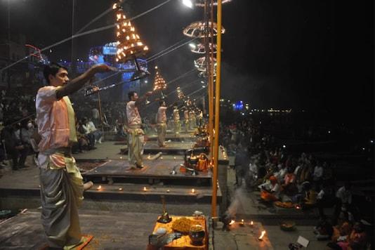 File photo of 'Ganga Aarti' in Varanasi.