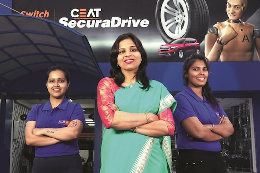CEAT all-women shoppe has opened in India. (Photo: CEAT)