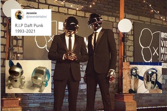 Image credits: Daft Punk/Reddit/Twitter.