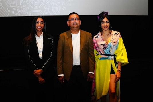 Anupriya Goenka, Vikaas Gutgutia, Adah Sharma at PVR, Logix Mall, Noida for Screening of short Film Chuha Billi