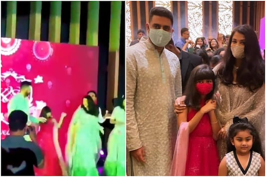 Aaradhya Dances to Desi Girl with Abhishek at Aishwarya Rai Bachchan's Cousin's Wedding