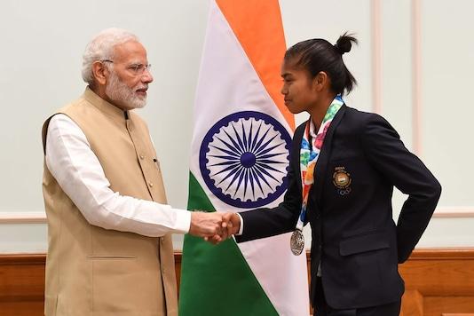 Bichu Devi Kharibam (Photo Credit: Twitter)
