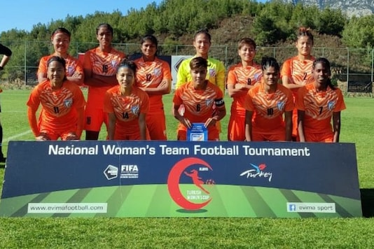 Indian women's football team (Photo Credit: AIFF Media)