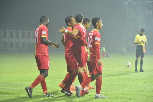 TRAU FC defeated Indian Arrows (Photo Credit: AIFF Media)