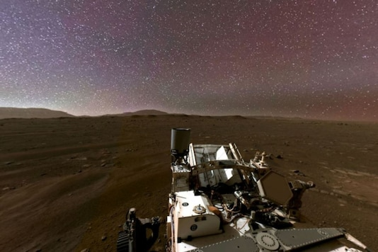 360 degree of Mars view.