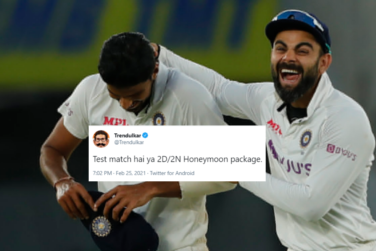India's Win Over England in Third Test Within Two Days Summed Up With Hilarious Memes