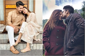 In Pics: Ravi Dubey and Sargun Mehta Indulge in PDA