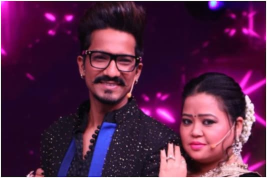 Bharti Singh with hubby