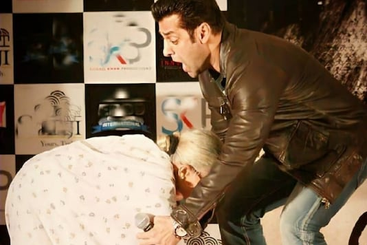 Salman Khan's Priceless Throwback Pic with Nurse Who Assisted His Birth in 1965