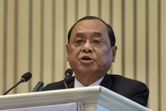 File photo of former CJI Ranjan Gogoi.