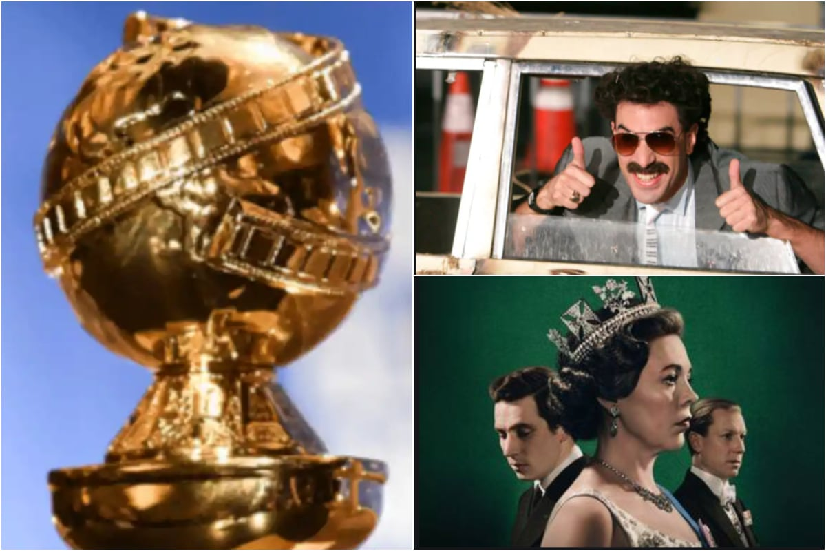 Golden Globes 2021: Borat Subsequent Moviefilm to The Crown, the Most Probable Winners - News18