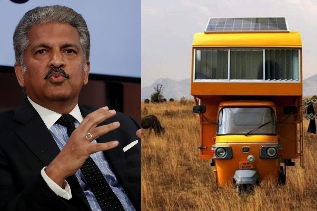 Anand Mahindra Shares Photo of Mobile Home Atop Auto Rickshaw, Wants to Connect with Architect - News18