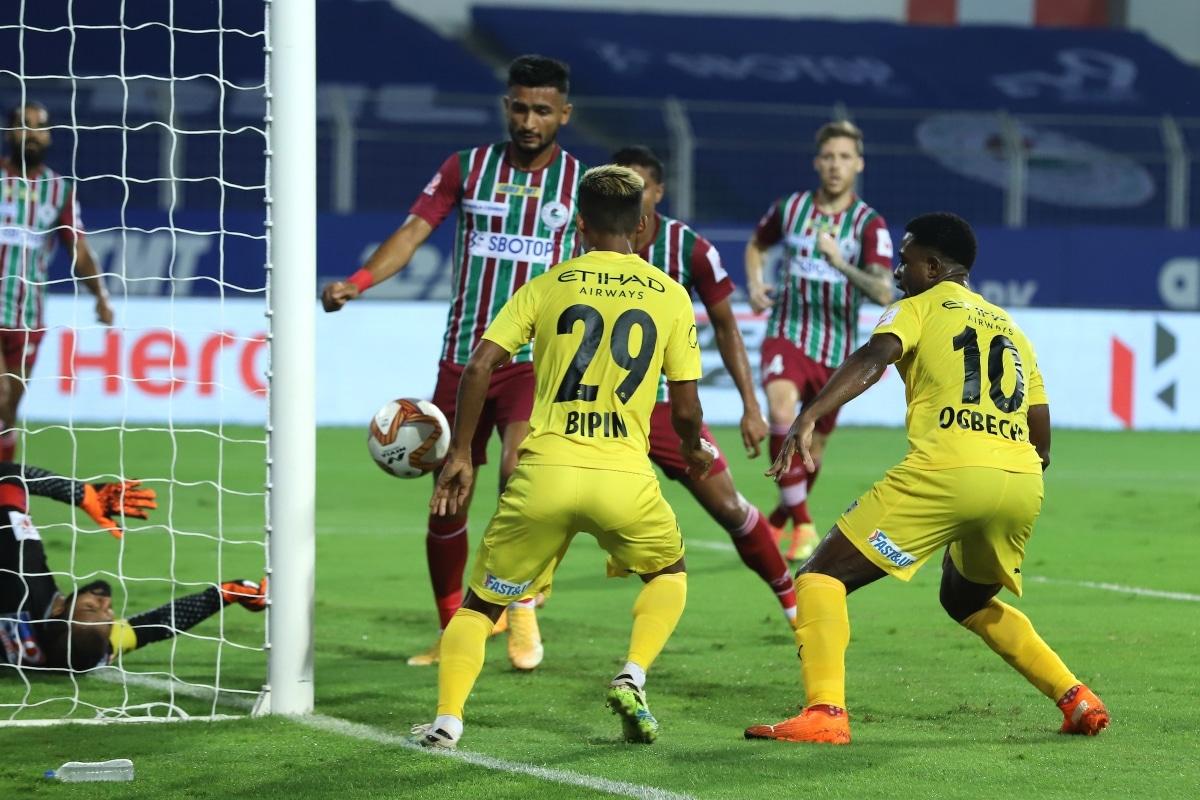 ISL 2020-21 HIGHLIGHTS, Mumbai City FC vs ATK Mohun Bagan: MCFC Seal ACL Spot, Beat ATKMB - News18